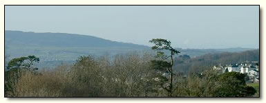 View of Dartmoor